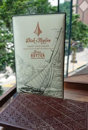 Dick Taylor 焦化牛油及可可豆粒與海鹽